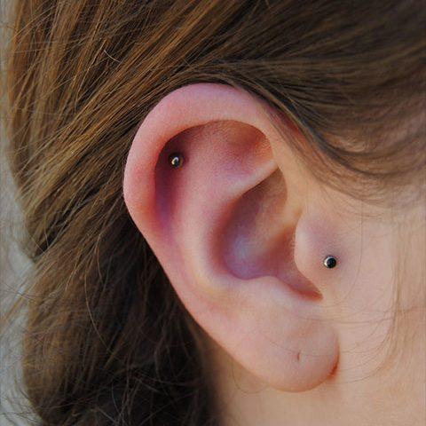 Cartilage et tragus
