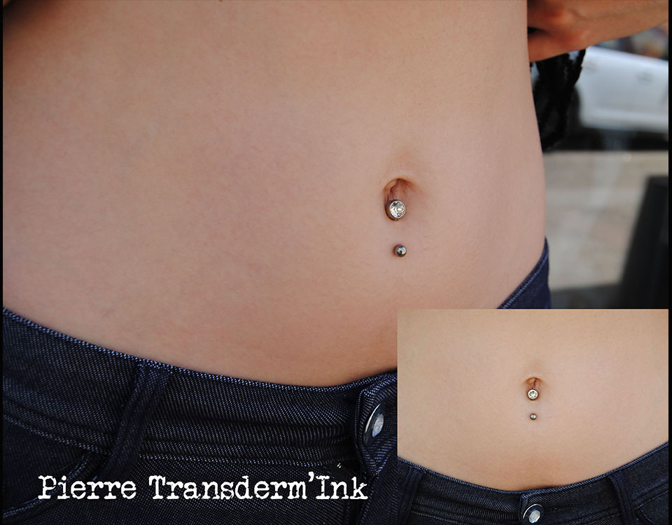 nombril invers transderm 39 ink tatoo piercing. Black Bedroom Furniture Sets. Home Design Ideas