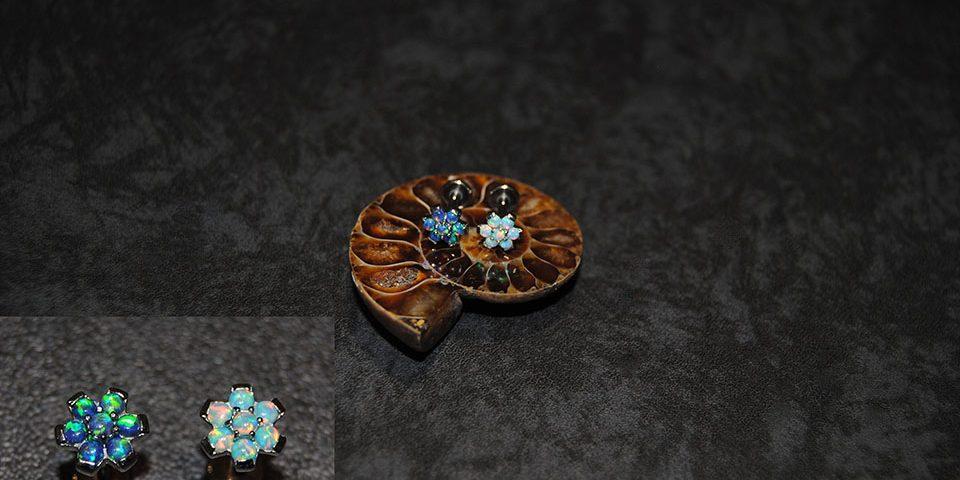 Fleur opale