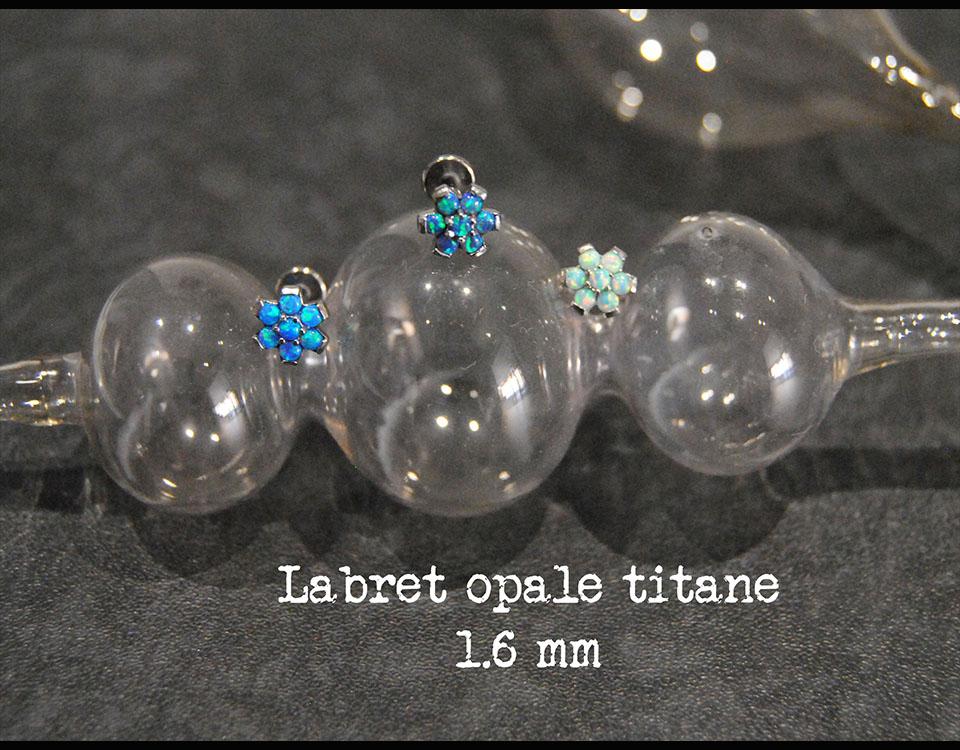 Labret opale
