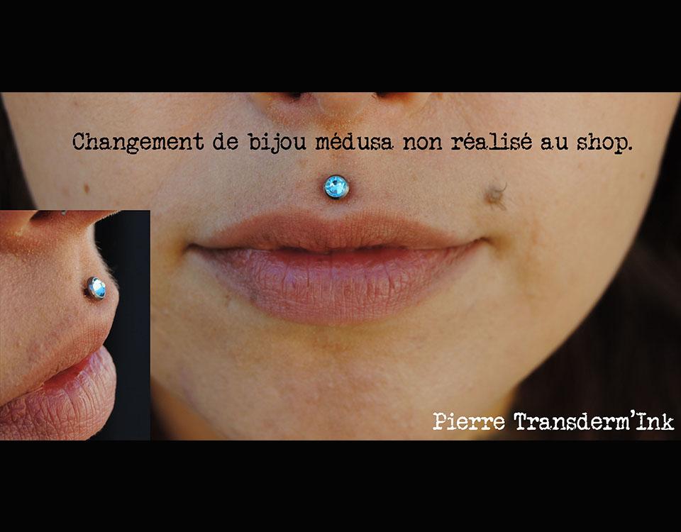 Changement bijou médusa