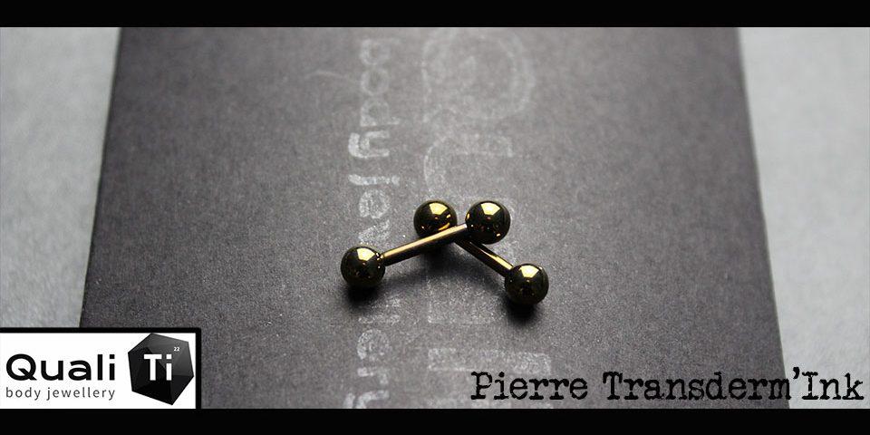 Bijoux tétons gold