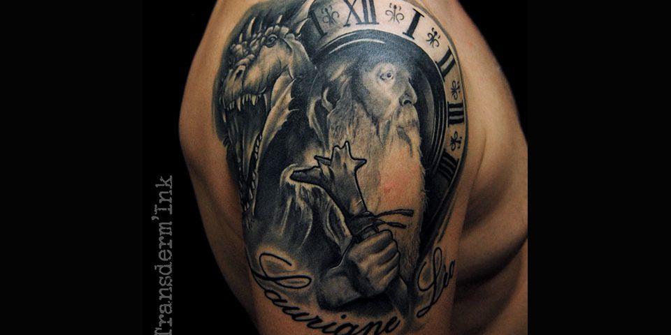 Merlin Tattoo